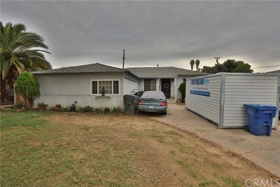 Whittier Single Family Home For Sale: 10476 Devillo Drive