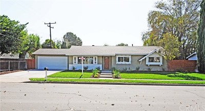 Simi Valley Single Family Home For Sale: 3536 Brannan Street