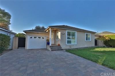 Whittier Single Family Home For Sale: 8823 Watson Avenue