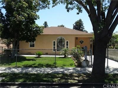 Santa Ana Single Family Home For Sale: 1026 W Walnut Street