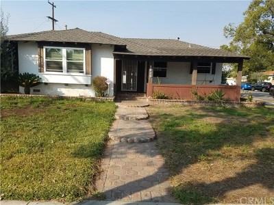 Anaheim Single Family Home For Sale: 1815 E Santa Ana Street