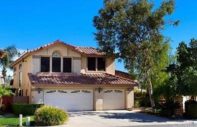 Corona Single Family Home For Sale: 22958 Elk Grass Street