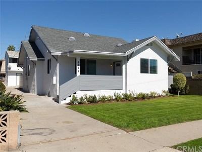 Gardena Multi Family Home For Sale: 1117 W 164th Street