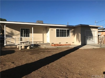 Banning CA Single Family Home For Sale: $239,000