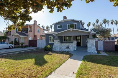 Los Angeles Single Family Home For Sale: 4831 5th Avenue