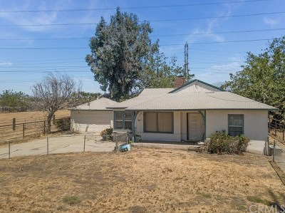 Chino Single Family Home For Sale: 6566 Edison Avenue