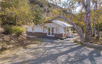 Modjeska Canyon, Silverado Canyon Rental For Rent: 14502 Ladd Canyon Road