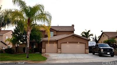 Menifee CA Single Family Home For Sale: $445,000