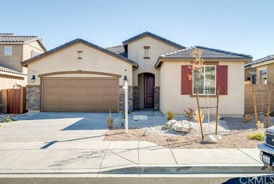 Victorville CA Single Family Home Active Under Contract: $265,000