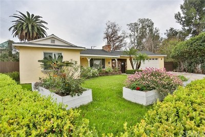 Santa Ana Single Family Home Active Under Contract: 402 W Park Lane