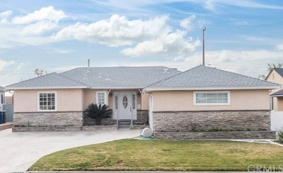 La Mirada Single Family Home For Sale: 14234 Gagely Dr.
