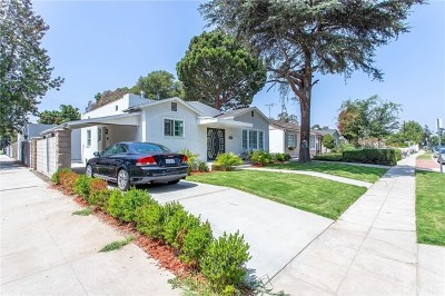 Toluca Lake Single Family Home For Sale: 4555 Willowcrest Avenue