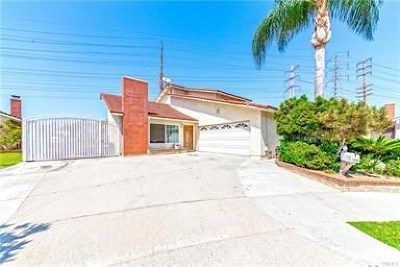 Cerritos Single Family Home For Sale: 19900 Meadows Court