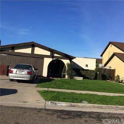 Anaheim Single Family Home For Sale: 1115 S Ambridge Street S