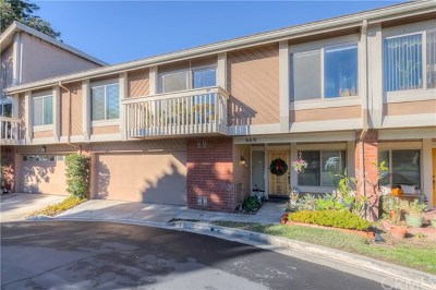 Fullerton Condo/Townhouse For Sale: 669 W Glenwood Drive