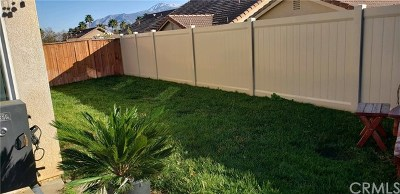 Banning CA Single Family Home For Sale: $245,000