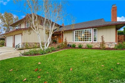 North Tustin Single Family Home For Sale: 13821 Allthorn Drive