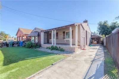 Los Angeles Single Family Home For Sale: 2120 E 120th Street