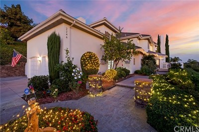 La Habra Heights Single Family Home For Sale: 2246 Ardsheal Drive