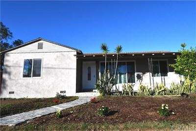 Santa Ana Single Family Home For Sale: 1631 W 9th Street