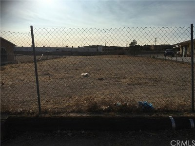 Barstow CA Residential Lots & Land For Sale: $11,500