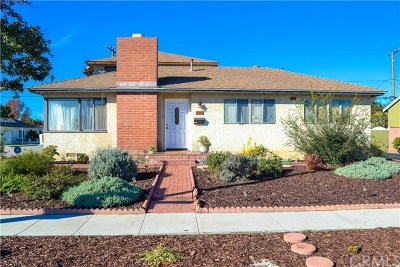 Long Beach Single Family Home For Sale: 2051 Palo Verde Avenue