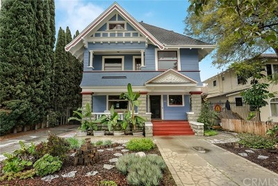 Long Beach Single Family Home For Sale: 847 Linden Avenue