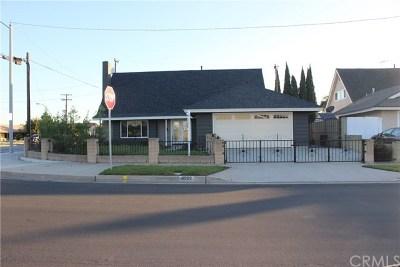 Cypress Single Family Home For Sale: 4991 Lemon Avenue
