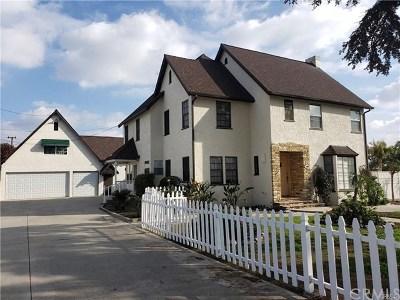 La Habra Rental For Rent: 200 Valley Home Avenue