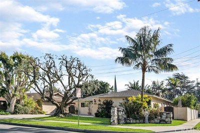 Santa Ana Single Family Home For Sale: 708 E Park Lane