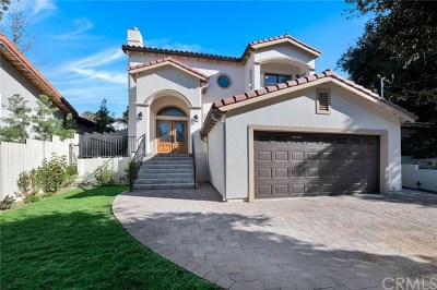 Calabasas Single Family Home For Sale: 3528 Mesquite Drive