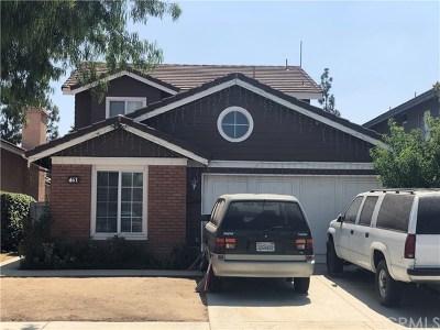 Perris Single Family Home For Sale: 461 Granite