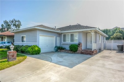 Brea Single Family Home For Sale: 932 Willow Drive