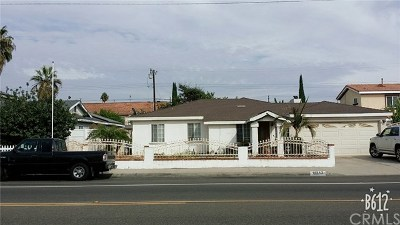 Midway City Single Family Home For Sale: 14842 Newland Street