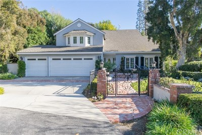 North Tustin Single Family Home For Sale: 12982 Springwood Drive