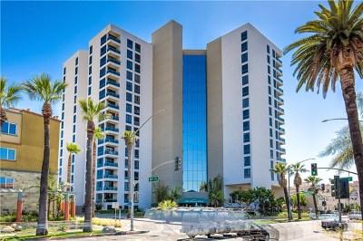 Los Angeles County Condo/Townhouse For Sale: 1310 E Ocean Boulevard #1506