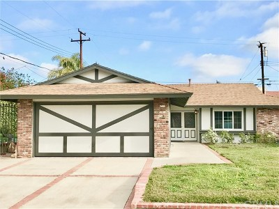 Tustin Single Family Home For Sale: 1361 Garland Avenue