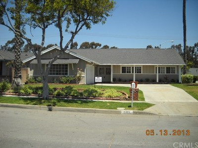 Fullerton Single Family Home For Sale: 2301 El Rancho