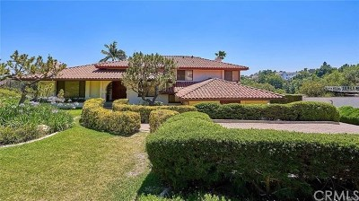 La Habra Heights Single Family Home For Sale: 2085 Virazon Drive