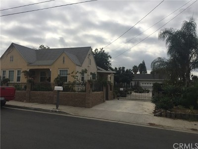 La Puente Single Family Home For Sale: 16136 Fellowship Street