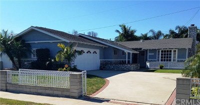 Huntington Beach Single Family Home For Sale: 16651 Kettler Lane