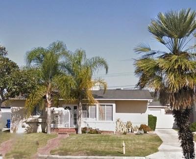La Mirada Single Family Home For Sale: 15203 Alondra Boulevard