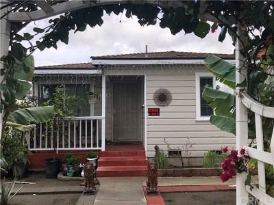 Long Beach Single Family Home For Sale: 5840 Falcon Avenue