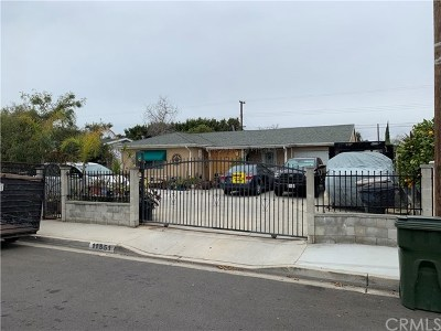 Anaheim Single Family Home For Sale: 11551 Poes Street