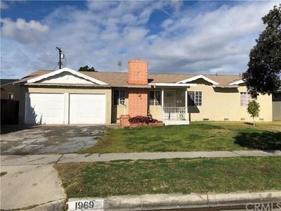Anaheim Single Family Home For Sale: 1969 W Cerritos Avenue
