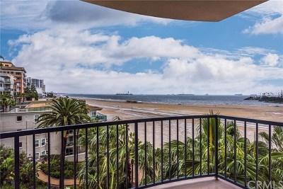 Long Beach Condo/Townhouse For Sale: 850 E Ocean Boulevard #304