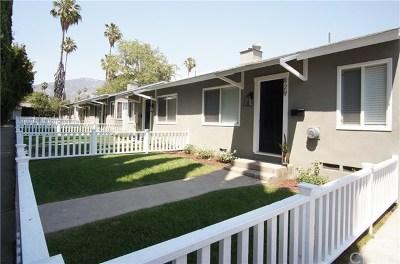 Pasadena Multi Family Home For Sale: 827 E Washington Boulevard