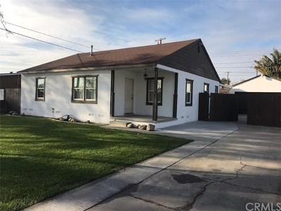 Fullerton Single Family Home For Sale: 2117 W Ash Avenue
