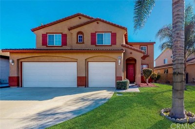 Eastvale Single Family Home Active Under Contract: 7460 Valley Meadow Avenue