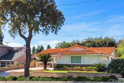 La Habra Single Family Home For Sale: 1251 Ridgehaven Drive